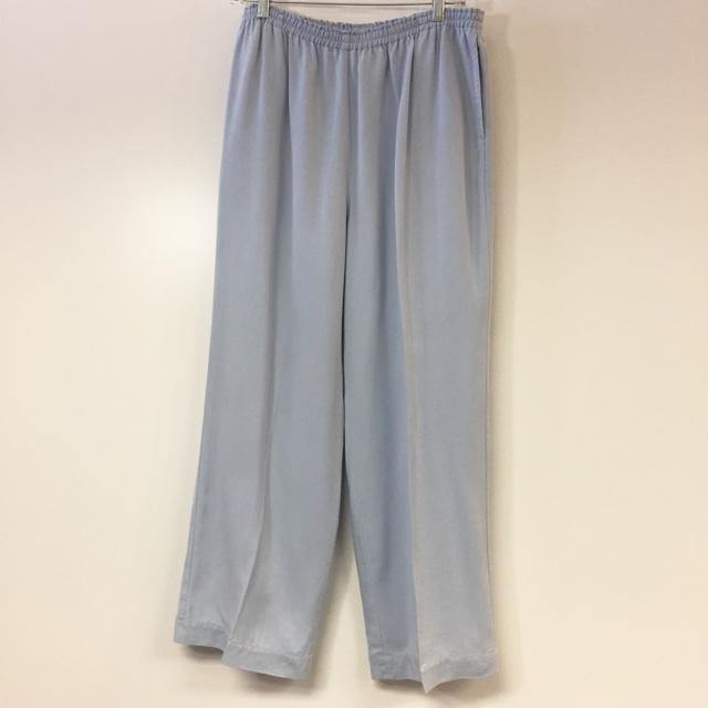 Soft Surroundings Size M Blue Solid Pull On Tencel Pants - Treasures Upscale Consignment