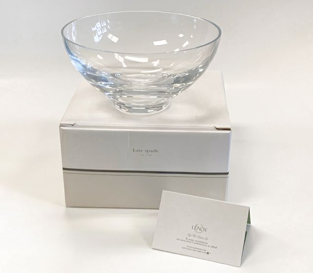 Kate Spade - Lenox Crystal Clear Round Misc. Home Item
