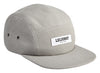 LEIJONAT FIVE PANEL CAP GREY