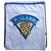 LEIJONAT GAME WORN GYM SACK WHITE