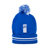 IIHF 2019 Beanie with Pom Pom Blue