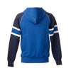 SUOMI RAGLAN ZIPHOOD WITH STRIPES