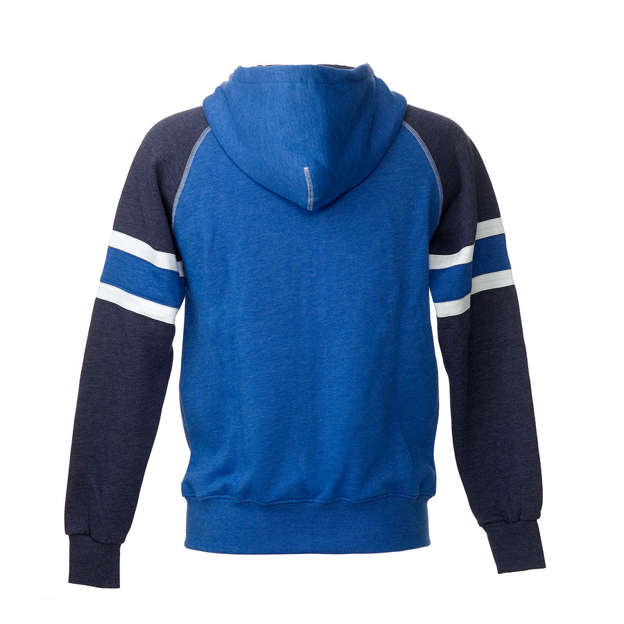 quality design 876c7 6468a SUOMI RAGLAN ZIPHOOD WITH STRIPES
