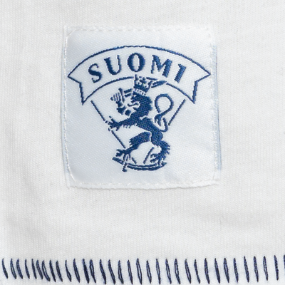 Team Finland Pocket Tee White