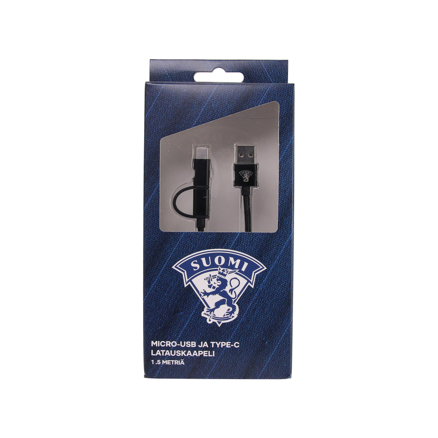 Leijonat 2in1 Charge Cable