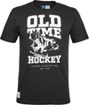 LEIJONAT OLD TIME HOCKEY SKATES TEE BLACK