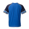 SUOMI RAGLAN T-SHIRT WITH STRIPES