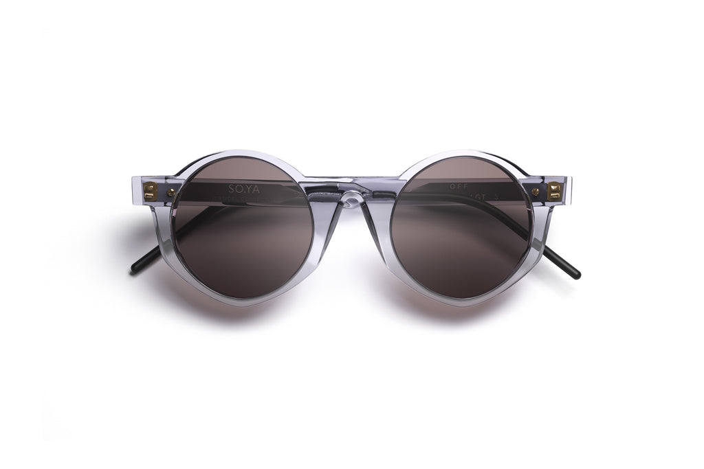 Occhiali da Sole SO.YA Eyewear | Off / Transparent Grey