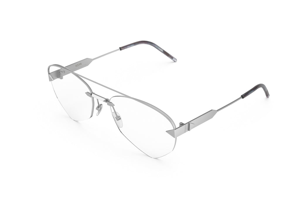 Rick | Silver Matte / Optical