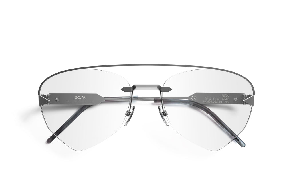 Occhiali da Vista SO.YA Eyewear Rick | Silver Matte Optical