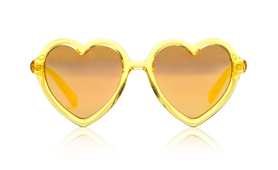 Lola | Yellow Jelly Mirror - OTTICA ISEE