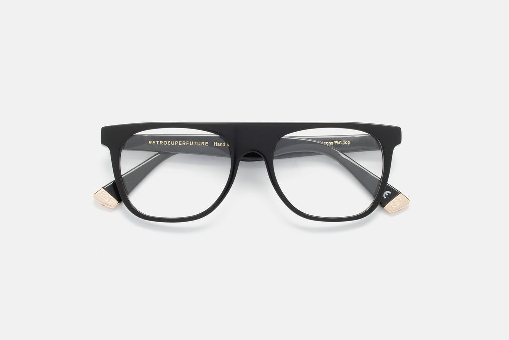 Occhiali da Vista SUPER | Flat Top Optical / Nero