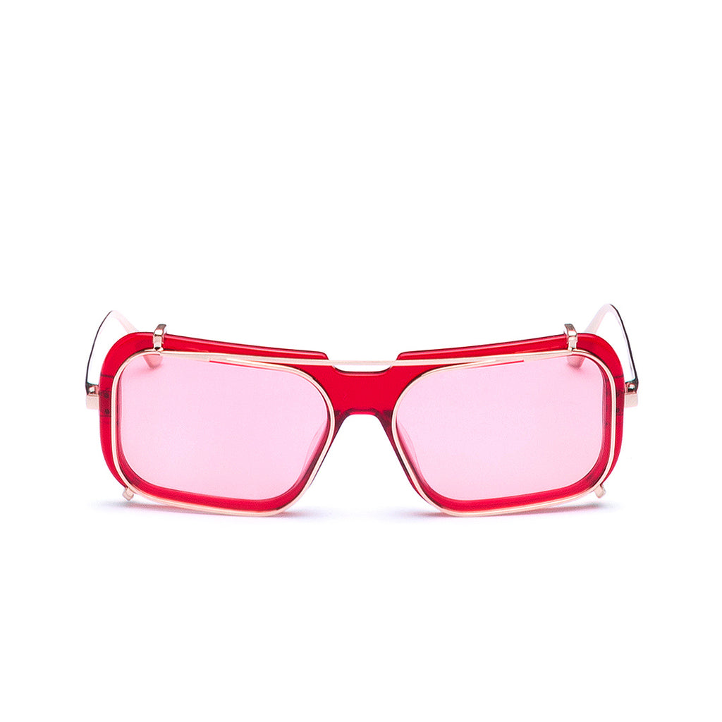 Occhiali da Vista e da Sole High Line Collection | FHL-01-05-Red