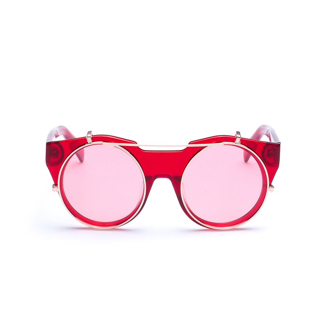 Occhiali da Sole e da Vista FKSHM High Line Collection | FHL-04-05-Red