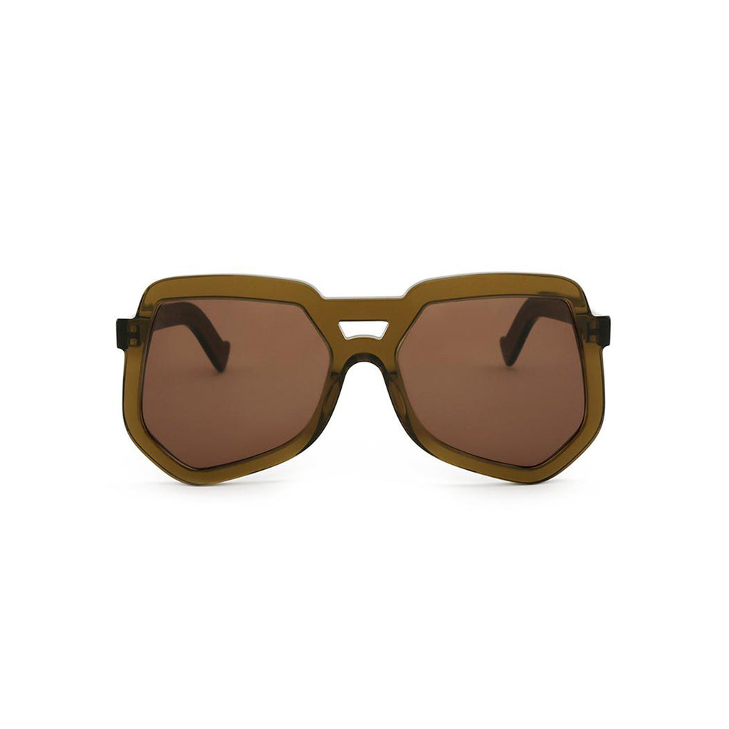 Grey Ant Sunglasses | Clip / Translucent Olive Brown