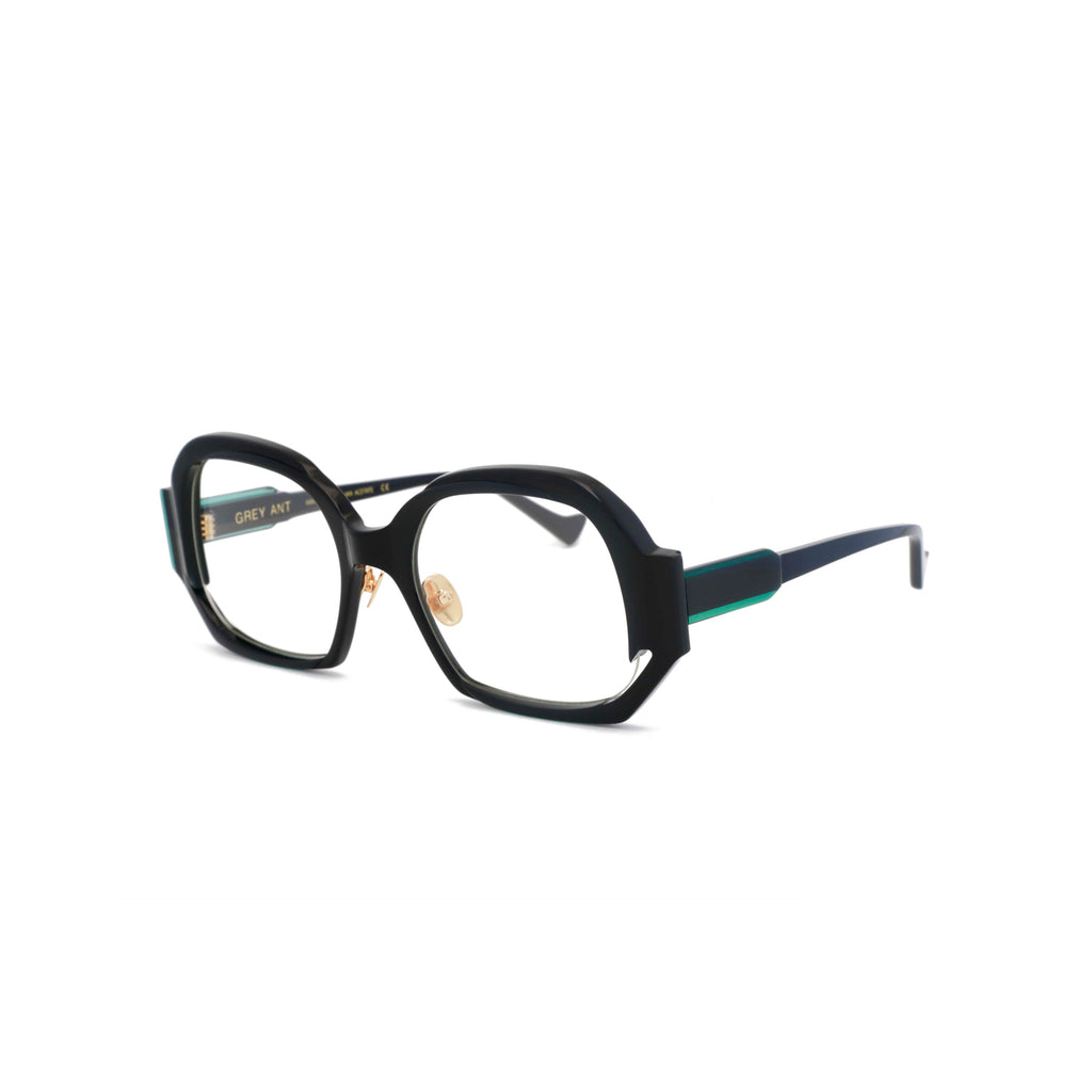 Grey Ant Eyewear | Come-On / Black W - Green