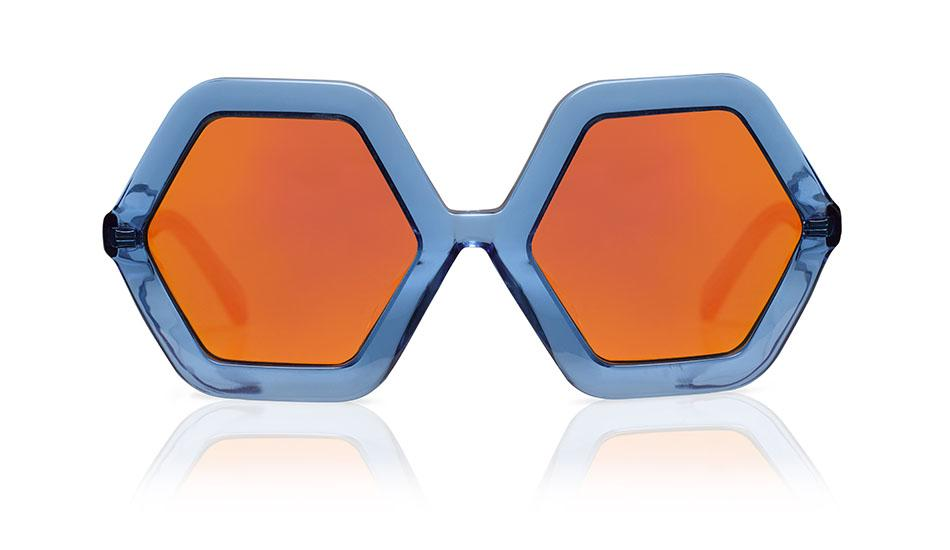 Honey | Blue Jelly W/Mirror - OTTICA ISEE