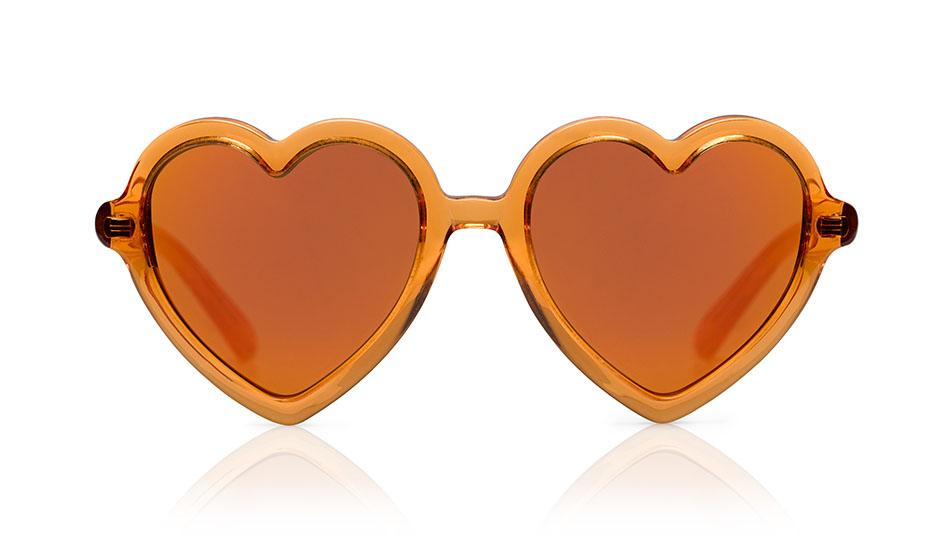 Lola | Orange Jelly W/ Mirror - OTTICA ISEE
