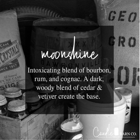 Moonshine pure soy candle