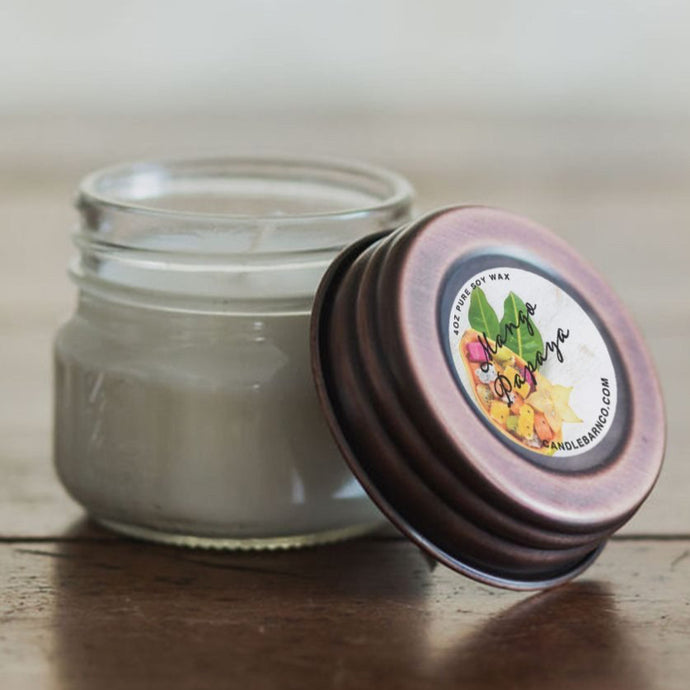 Pure Soy Candle - Mango Papaya