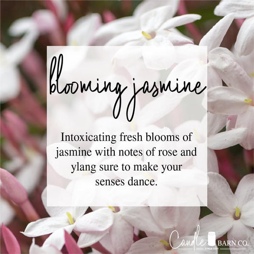Blooming Jasmine 4oz Mason Jar Soy Candles