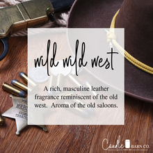 Load image into Gallery viewer, Wild Wild West 4oz TIN Soy Candles