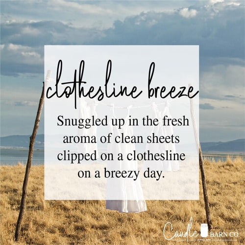 Clothesline Breeze  4oz TIN Soy Candles