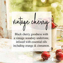 Load image into Gallery viewer, Vintage Cherry 4oz Mason Jar Soy Candles