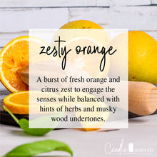Load image into Gallery viewer, Zesty Orange 4oz Mason Jar Soy Candles
