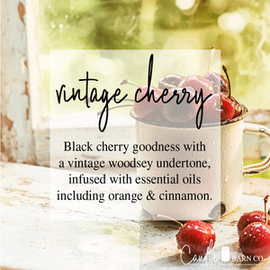 Vintage Cherry 4oz TIN Soy Candles