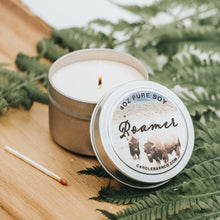Load image into Gallery viewer, Roamer 4oz TIN Soy Candles