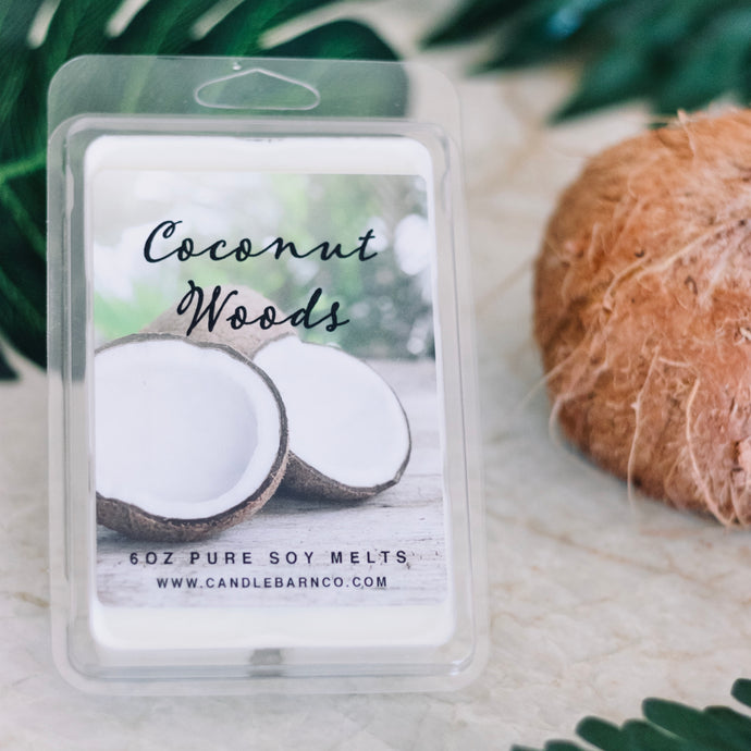 Coconut Woods Large Breakaway Soy Melts