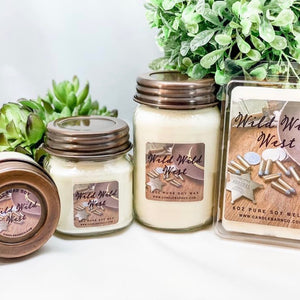 * Pure Soy Mason Jar Candles & Melts Starter Kit