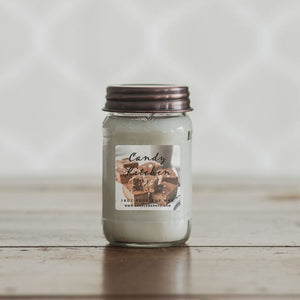 Candy Kitchen 16oz Mason Jar Soy Candles