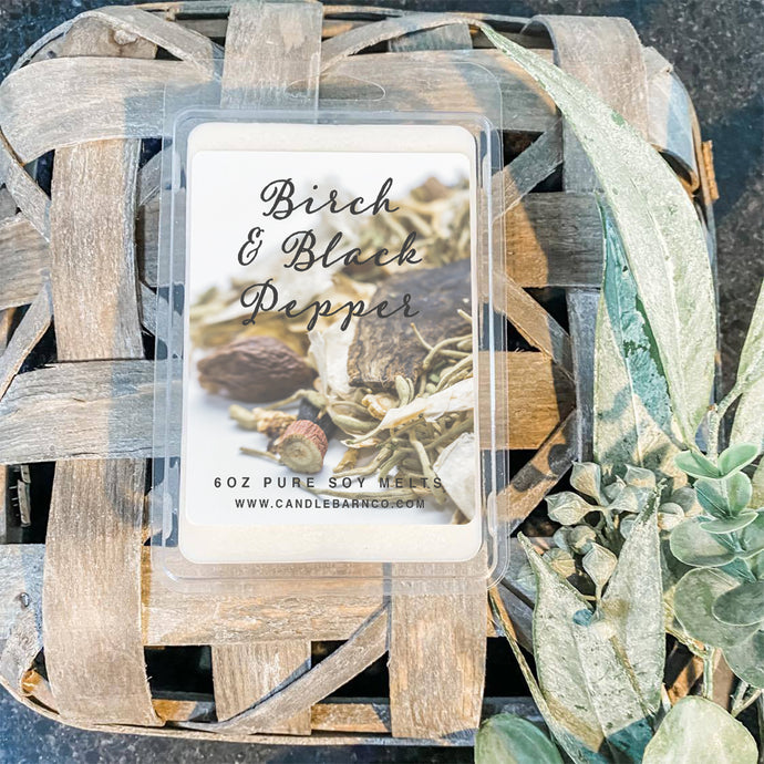 Birch & Black Pepper Soy Tarts  Edit alt text