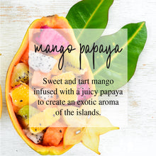 Load image into Gallery viewer, Mango Papaya 4oz TIN Soy Candles