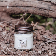 Load image into Gallery viewer, Lumber Jack 8oz Mason Jar Soy Candles
