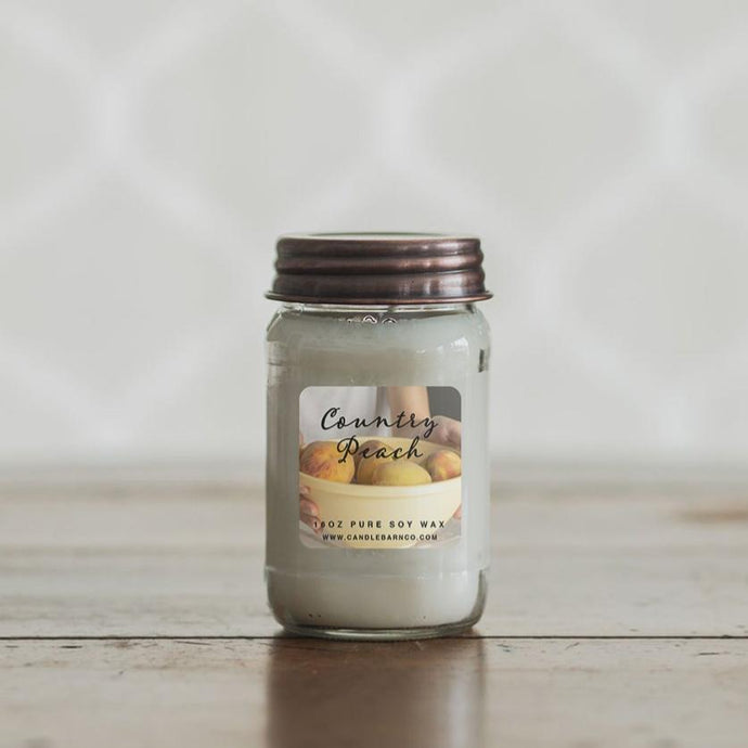 Pure Soy Candles - Country Peach
