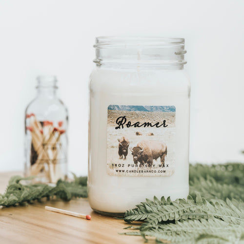 Roamer 16oz Mason Jar Soy Candles