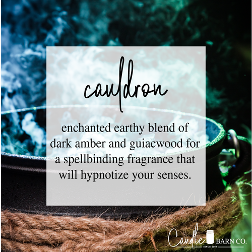Cauldron 8oz Mason Jar Soy Candles