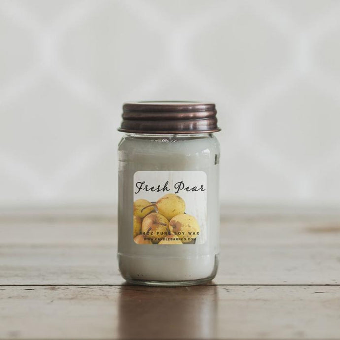 Pure Soy Candles - Fresh Pear