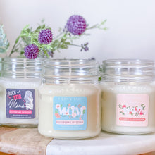 Load image into Gallery viewer, *I LOVE YOU MOM 8oz Mason Jar Soy Candles