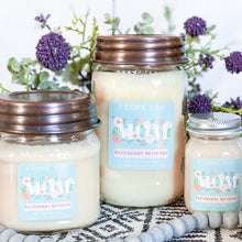 Load image into Gallery viewer, *I LOVE YOU MOM 16oz Mason Jar Soy Candles