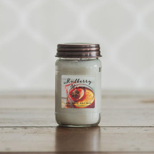 Pure Soy Candle - Mulberry Wine