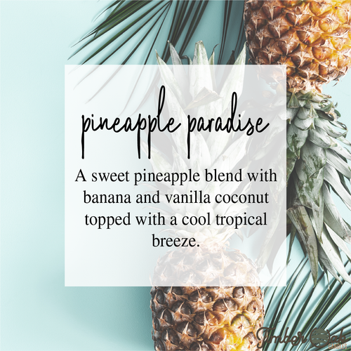 Pineapple Paradise Large Breakaway Soy Melts