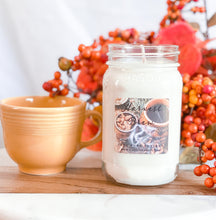 Load image into Gallery viewer, Harvest Brew 16oz Mason Jar Soy Candles