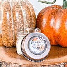Load image into Gallery viewer, Pumpkin Pecan Waffles 4oz Mason Jar Soy Candle