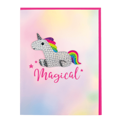 MAGICAL NOTE CARDS WITH DECAL STICKER