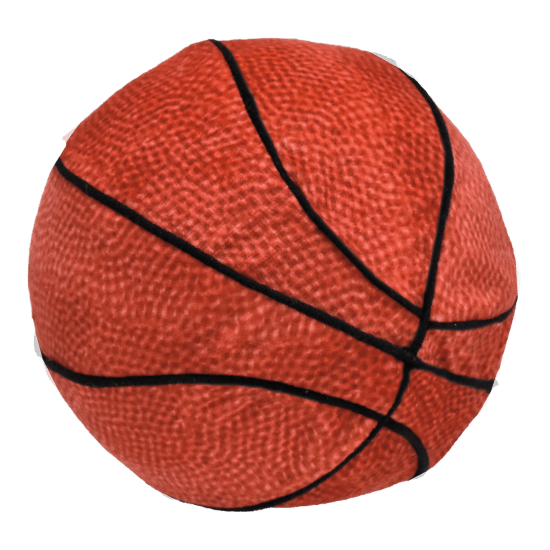 BASKETBALL SQUISHY PILLOW