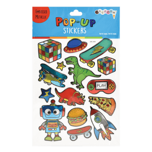 TOYS AND MORE POP UP STICKER